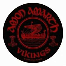 Amon Amarth - Vikings Circular Aufnäher Patch Viking Metal Death Pagan NEU