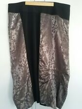 Taking Shape black gold long skirt plus size 20 work formal