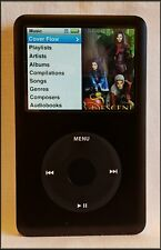 Apple iPod Classic 6th Generation Black - 80 GB - Charger - Case - Manual Bundle
