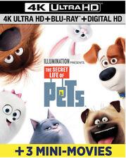 The Secret Life Of Pets [New 4K UHD Blu-ray] With Blu-Ray, UV/HD Digital Copy,