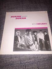 Duran Duran With Compliments Promo LP EP Mega Rare