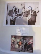 Jerry Merritt business card Gene Vincent 8x10 photo & postcard
