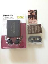 Vintage Magnavox Aq 6521 Stereo Radio Cassette Player Am/Fm Tuner + Beatles Tape
