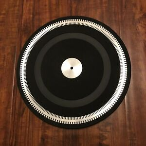 Philips 212 Platter With Rubber Mat Turntable Record Player Parts