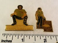 2 Little League Baseball PINs - MD D4 UMPIRE's Male & Female