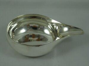 RARE, NEWCASTLE, GEORGE III silver PAP BOAT, c1770, 35gm