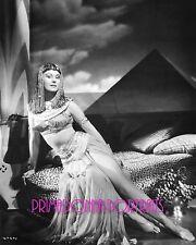 VIRGINIA MAYO 8X10 Lab Photo 1940's Leggy Sexy Cleopatra Egyptian Themed Costume