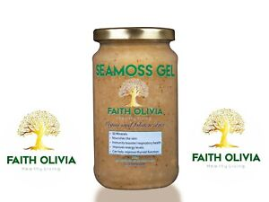 100% Organic Irish Moss (SeaMoss) & Bladderwrack Gel 500ml/Ready to use/Dr. Sebi