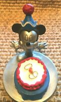 Disney Mickey Mouse  Pewter Figurine  60th Birthday Cake  #4567