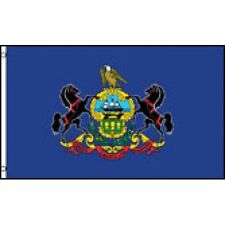 New listing Pennsylvania State flag Banner Sign 3' x 5 Foot Polyester With grommets