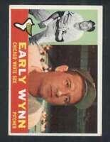 1960 Topps #1 Early Wynn VGEX White Sox 123039