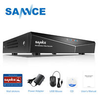 SANNCE HD 8CH 1080P HDMI CCTV DVR TVI Video Recorder for Security Camera System