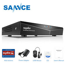SANNCE 8ch 1080n 5in1 DVR Video Recorder CCTV Security System Motion Detection
