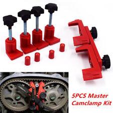5x Dual Cam Clamp Camshaft Engine Timing Locking Tool Sprocket Gear Locking Tool