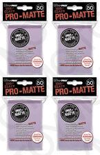 200 4pk ULTRA PRO Pro-Matte Deck Protector Card Sleeves Magic Standard Lilac