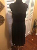 Rare Vintage Billy Bo Designs Black Wool Dress W Cape Or Skirt Accessory Small Ebay