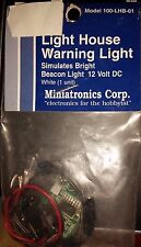 Miniatronics HO Scale Two Directional Red Warning Light 100-NL1-01