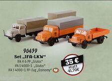 """Set """"IFA CAMIÓN"""", De 35 Años Brekina, H0 Auto Modelo 1:87, 90439"""