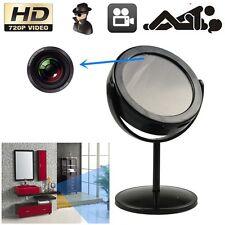 SPY Hidden Home Mirror Camera DVR Motion Detection Video Camcorder Cam Black TL