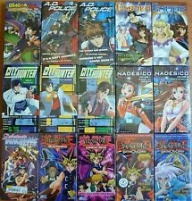Wholesale Lot of 15 Anime VHS VIdeo Tape New Dubbed in English Compiler 1 2 More