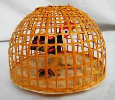 Miniature hand Made Wooden Chicken Coop with Moving Chickens - BNWT