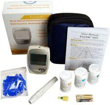 Blood Cholesterol Monitor Kit 3 In 1 Meter Blood Uric Acid Test Kit Easy Use