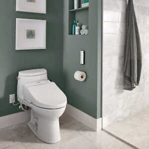 Toto Washlet Easy Install Electric Elongated Bidet Toilet Seat T1SW2024 #2 (0998