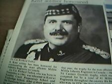 ephemera 1980 article kent soldier richard talbot canada