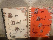 River Road Recipes Cookbook 1973, 1976 Softcover Baton Rouge LA na
