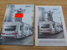 Fendt 2013 Wohnwagen Caravan Katalog Prospekt