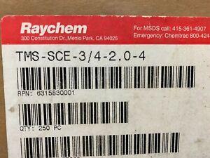 "500 pcs    TMS-SCE-3/4-2.0-4   Raychem   SLEEVING,ID-MRKNG,YELLOW,2""LG"