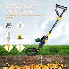 Handheld Lcd Metal Detector Gold Digger Deep Sensitive Hunter Search Coil Finder