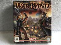 Vintage War Wind PC Big Box Collectors Video Game Complete CIB Great Condition