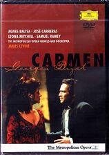 DVD: BIZET CARMEN Baltsa Carreras Ramey LEVINE 1988 Agnes Jose Samuel Mitchell