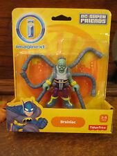 Fisher Price Imaginext Batcave DC Super Friends Justice League BRAINIAC backpack
