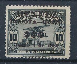 [36101] Ecuador 1930 Good airmail stamp Very Fine MH