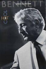 Tony Bennett 1999 Bennett Sings Ellington Hot & Cool Promo Poster Original