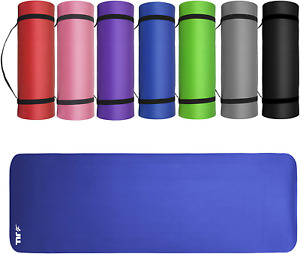 JLL® Yoga Mat Extra Thick 15mm Non-Slip Pilates Workout Exercise Mat available i