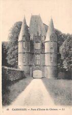 CARROUGES - Porte d'entrée du Château -