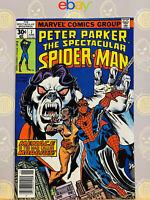 Spectacular Spider-Man #7 (9.0) VF/NM Morbius App 1977 Bronze Age Key Issue