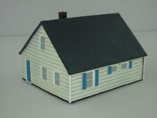 Unbranded HO Scale Model Train Houses