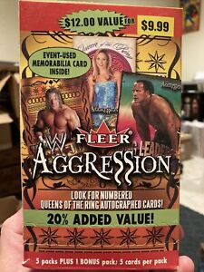 2003 Fleer WWE Aggression Lot Of 20 Cards Ric Flair Shawn Michaels The Rock