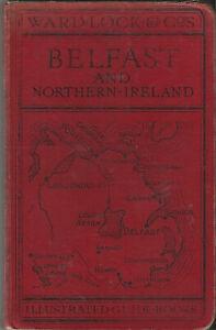 WARD LOCK RED GUIDE - BELFAST & NORTHERN IRELAND - 1933/34 - maps & plans