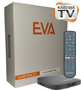 Kartina Eva,Us , Kartina TV Receiver, Приставка Картина ТВ, Russian IPTV