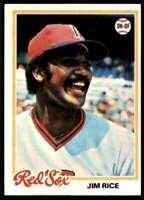 1978 Topps Jim Rice Boston Red Sox #670