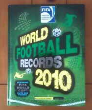 FIFA World Football Records 2010 by Keir Radnedge (Hardback) NEW