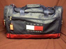 Vintage Tommy Hilfiger Duffel Tote Gym Sport Bag