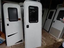 """Trailer Door, 26"""" X 72"""".  With Screen Door, Take Off, Good Shape, Locks/Keys #34"""
