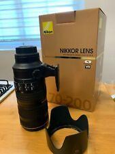 Nikon AF-S NIKKOR 70-200mm f/2.8G ED VR II - Black