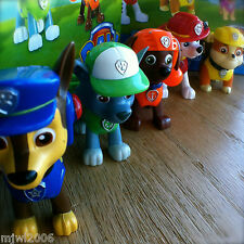 Nickelodeon PAW PATROL CHASE MARSHALL SKYE RUBBLE ROCKY ZUMA Action Pack Pup set